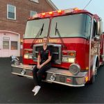 Firefighters inspire local woman to join dept.