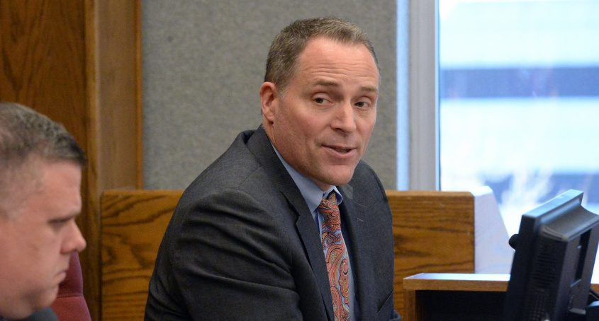 Schenectady County Manager Rory Fluman is pictured.