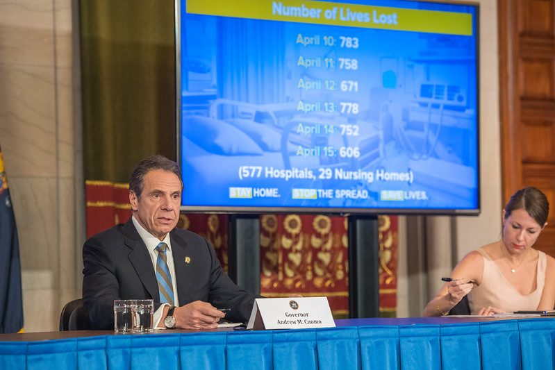 Gov. Andrew Cuomo Thursday