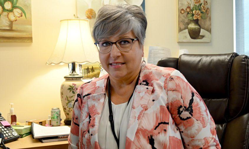 Schalmont Superintendent Carol Pallas