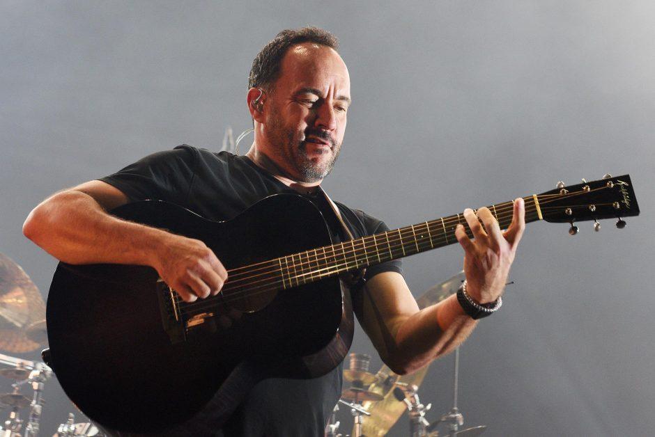 Dave Matthews performs at SPAC last July.