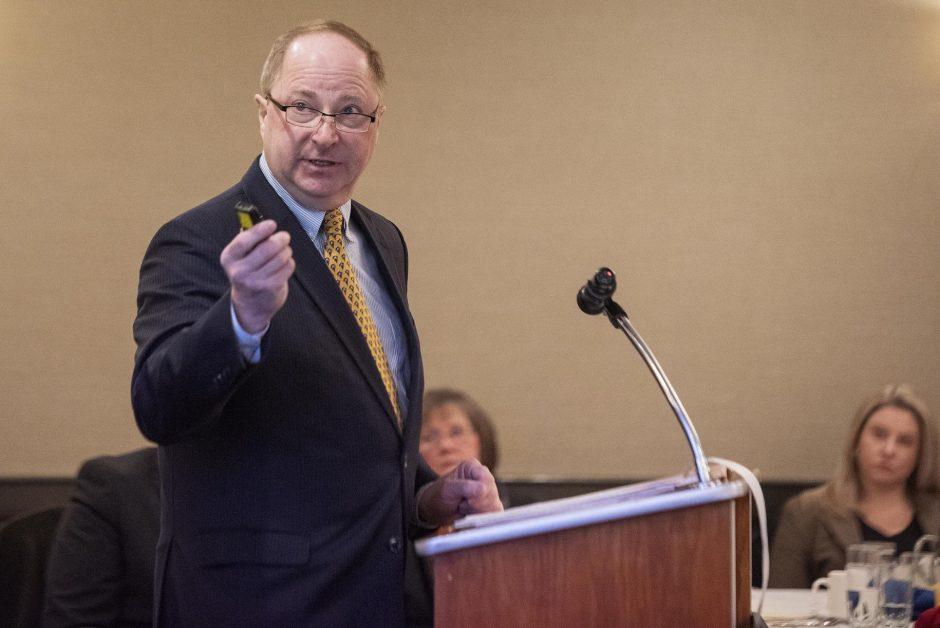 Fulton County Administrative Officer Jon Stead.