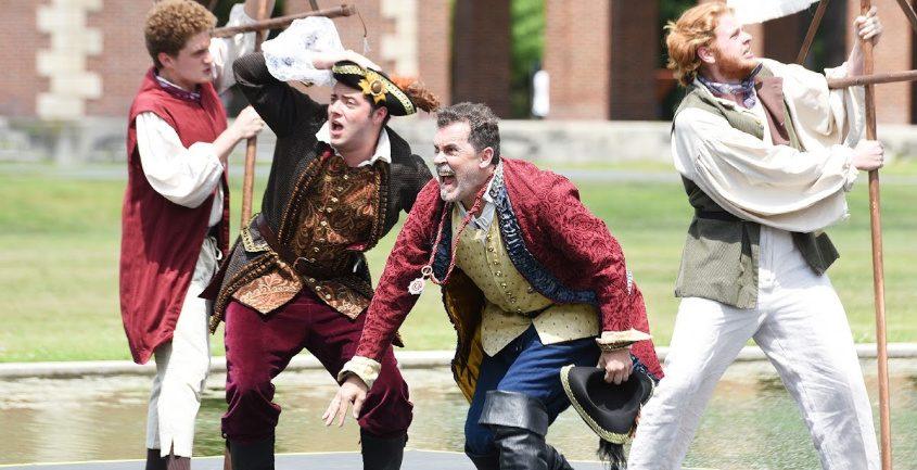 Saratoga Shakespeare presents The Tempest last summer at Saratoga Spa State Park.