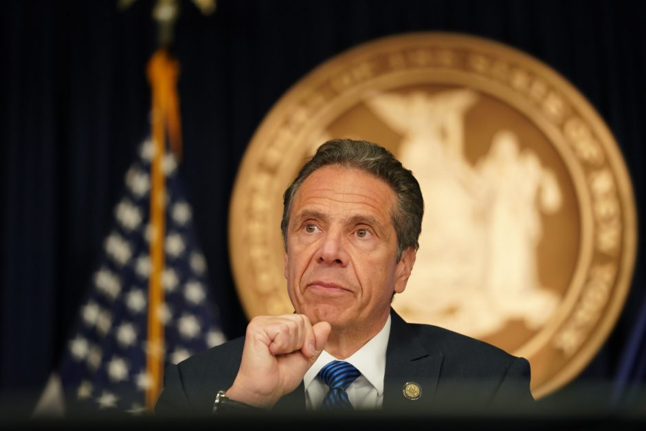 Governor Andrew Cuomo delivers his daily press briefing on COVID-19 Thursday, May 22.