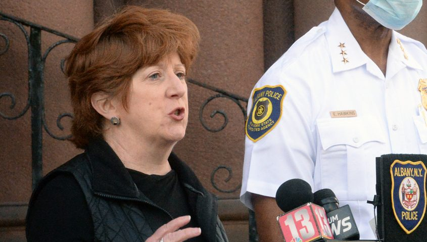 Albany Mayor Kathy Sheehan Sunday