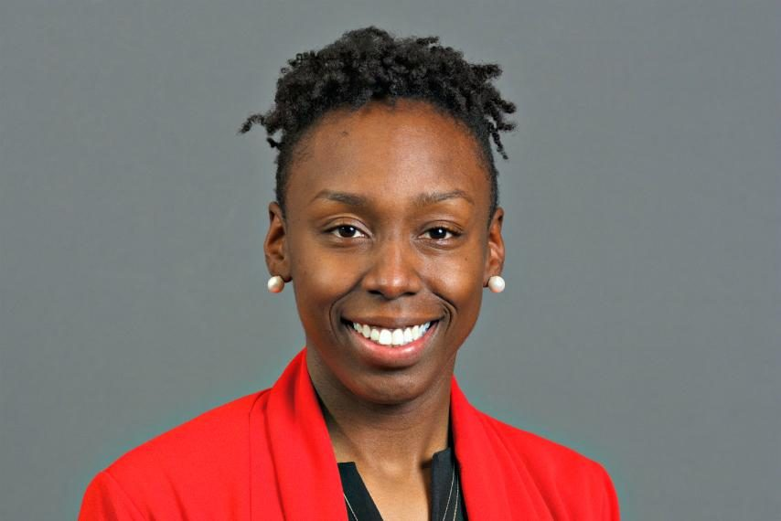 Whitney Edwards is the new head coach of Saint Rose women's basketball.