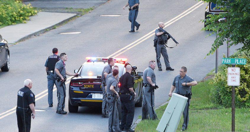 NYS Police, Saratoga County Sheriff, Ballston Spa, Charlton and Scotia Police in the search Saturday