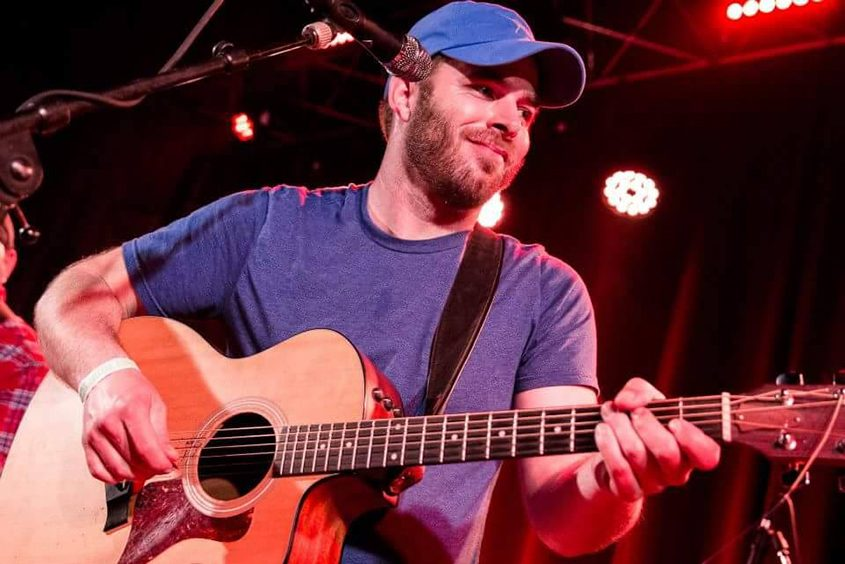 Adam Brockway of Eastbound Jesus is one musician who has signed up with Curbside Concerts.