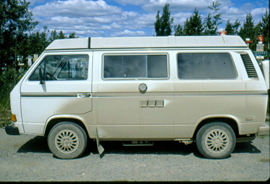 This 1982 VW camper van was our home for eight months.