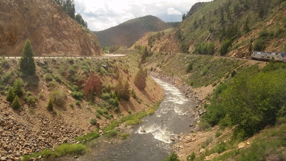 Spectacular scenery awaits right outside your window as you ride the California Zephyr from Denver to San Francisco.