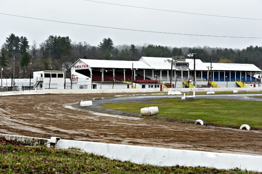 Fonda Speedway is pictured in April.