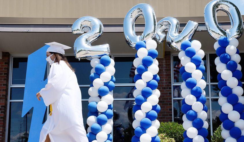 From Saratoga Springs High School's graduation June 26