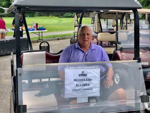 Rich Polaro is in his seventh year as the Van Patten Golf Club starter/ranger.