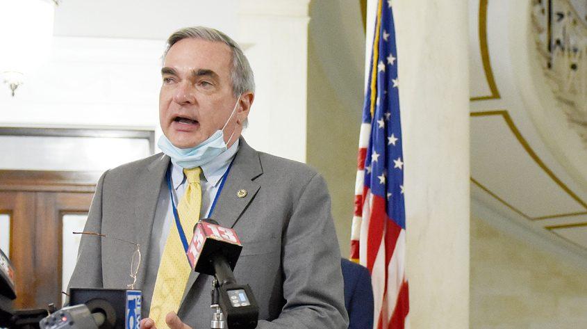 Schenectady Mayor Gary McCarthy in July