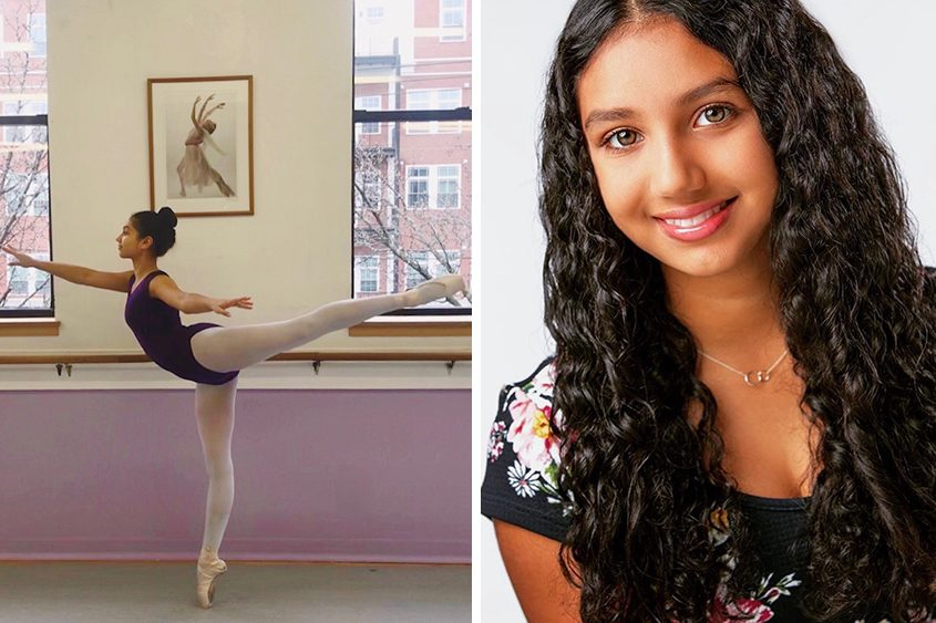 Student/dancer Almitra Guart is a spokesperson for Music For Change.