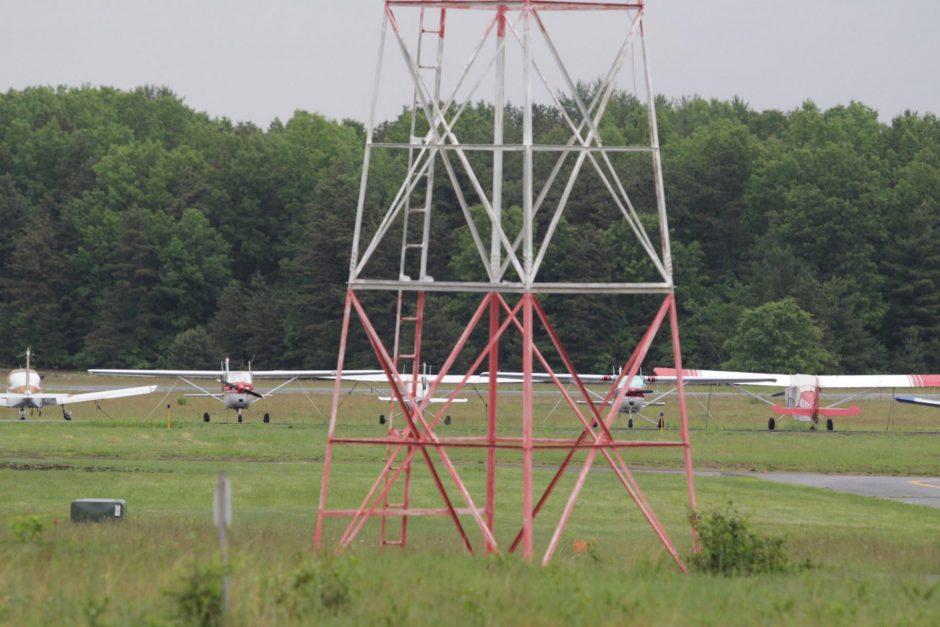 The Saratoga County Airport in 2014. File Photo