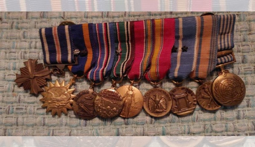 The stolen medals. - Credit: Fulton County Sheriff's Office