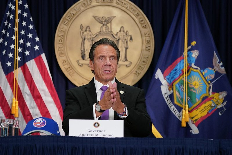 Gov. Andrew Cuomo Tuesday. Credit: Governor's Office