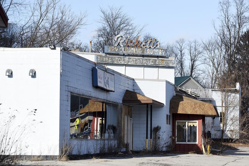 The former Rickett's Laundry and Dry Cleaners, on Route 50 in Ballston Spa. File Photo