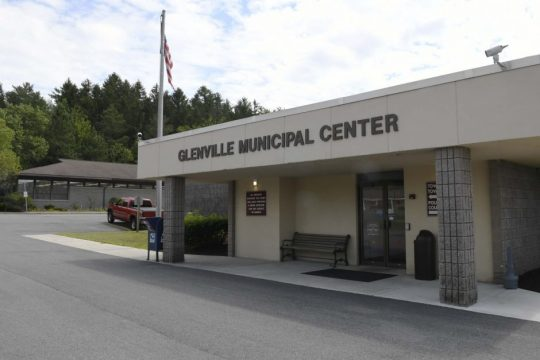 The Glenville Municipal Center is pictured in 2019.